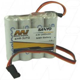 4/HR-3UTG FLT-JR Hobby Battery JR Connector