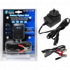 12V 1.0Amp 2 Stage Fully Automatic Lead Acid Battery Charger with Alligator Clips