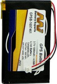 Replacement battery compatible with TomTom Go 520 (4M00.001), Go 530, Go 530 Live, Go 630 (4CJ6.000.00, 4CH6.000.00), Go 720 (4M00.002, 4M00.006),