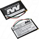 GPS Battery suitable for Garmin Nuvi 1350, 1370, 1390
