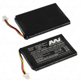 GPS Battery suitable for use with Garmin Nuvi models