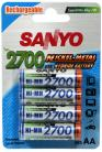 AA Sanyo HU-3UG 2700mAh Ni-MH