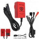 Enecharger ICS1-F2 Battery Guardian - 6V / 12V 1.0A 7 Step Fully Automatic Lead Acid Battery Charger