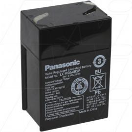 Panasonic 6v 4.5Ah, LC-R064R2P, LC-R064R5P