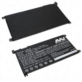 Laptop Computer Battery suitable for Dell Inspiron 13 WDX0R