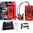 Super Capacitor Jump Starter with 500 Amp Cranking Output.