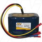 Battery pack suitable for AEMC 6240/6250 Micro-Ohmmeter